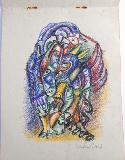 Jackson Pollock (1912-1956) Drawing Sketchbook - 8