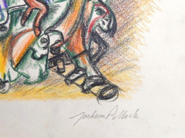 Jackson Pollock (1912-1956) Drawing Sketchbook - 9