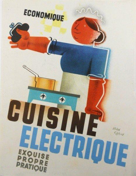 Jean Carlu (1900-1997) Vintage French Lithograph