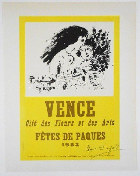 Marc Chagall (1887-1985) Original Lithograph