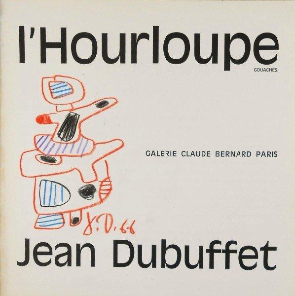 Jean Dubuffet (1901-1985) Book Drawing