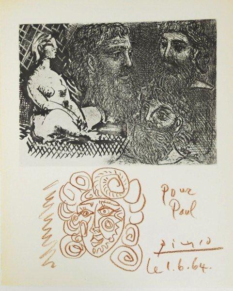 Pablo Picasso (1881-1973) Suite Vollard