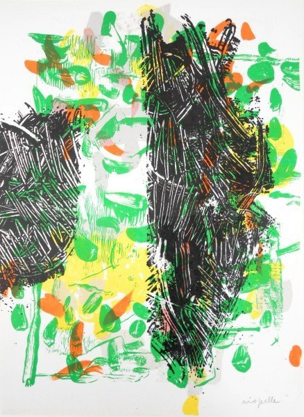 Jean-Paul Riopelle (1923-2002) Signed Lithograph