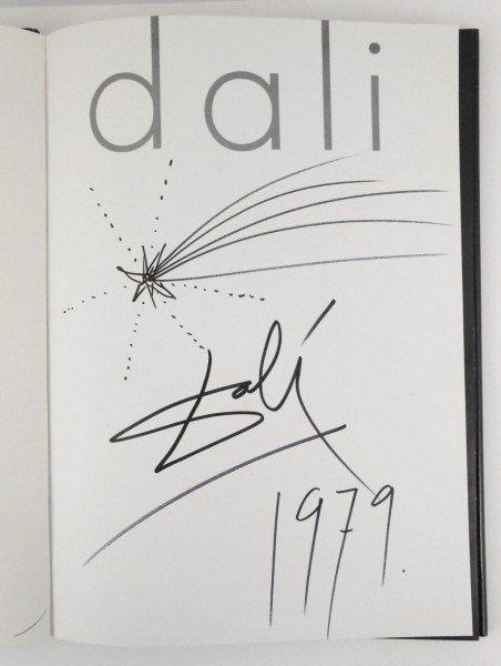 Salvador Dali (1904-1989) Signed Book