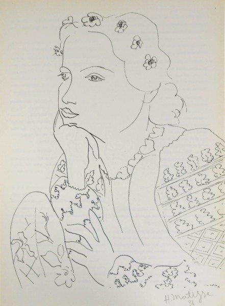 Henri Matisse Signed Print, 1938
