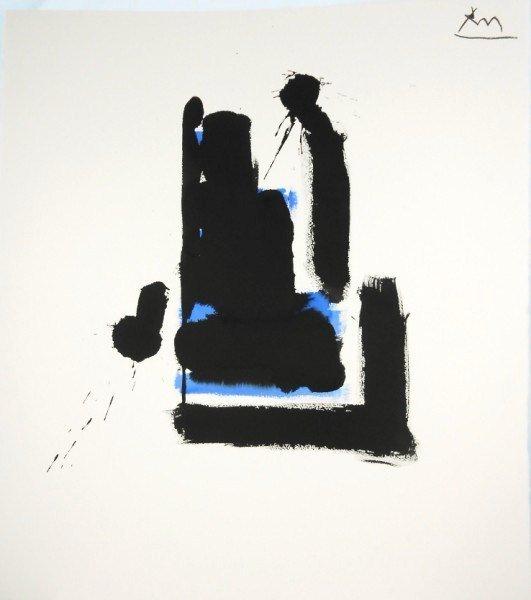 Robert Motherwell (1915-1991) Abstract