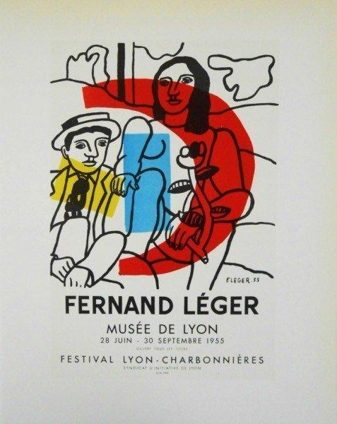 Fernand Leger (1881-1955) Original Lithograph