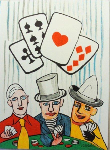 Alexander Calder (1898-1976) Signed Lithograph