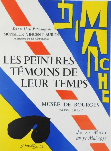 Henri Matisse (1869-1954) Original Lithograph