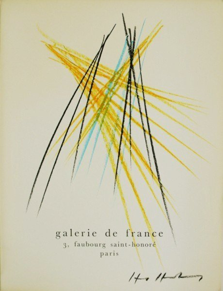 Hans Hartung (1904-1989) Drawing