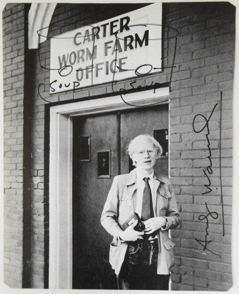 Andy Warhol (1928-1987) Souvenir Sketch