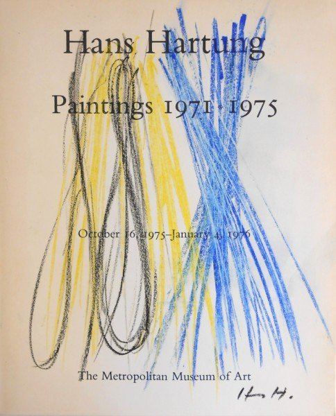 Hans Hartung (1904-1989) Title Page Drawing