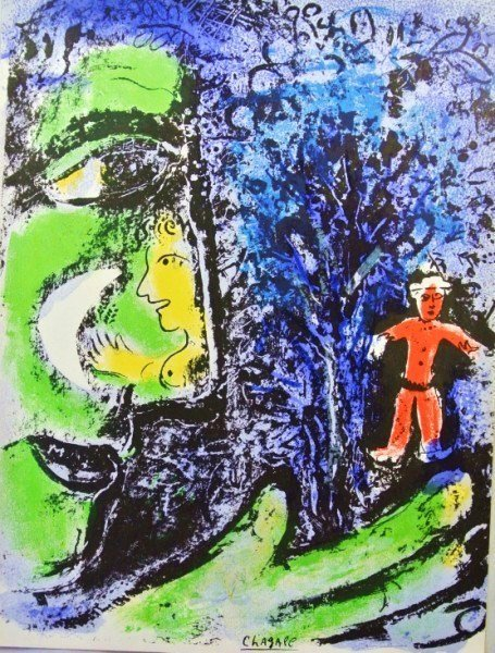 Marc Chagall Original Signed Lithograph