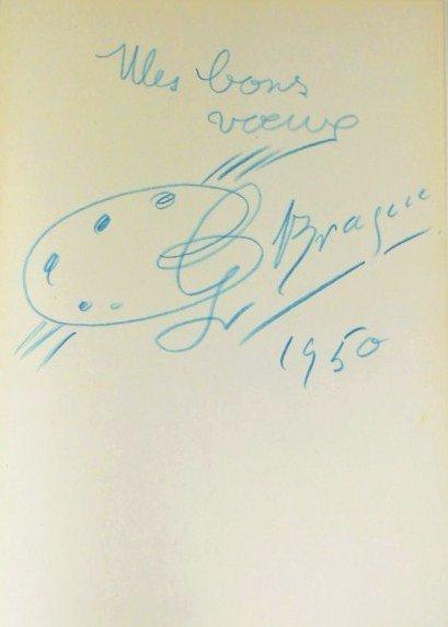 Georges Braque (1882-1963) Souvenir Drawing