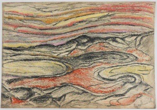 Edvard Munch (1863-1944) Pastel