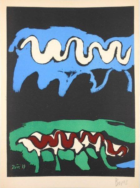 Francisco Bores (1898-1972) Signed Lithograph
