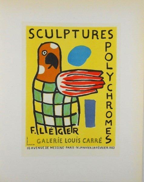 Fernand Leger (1881-1955) Color Lithograph