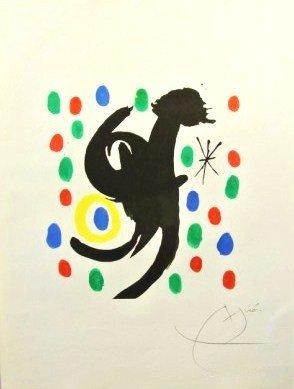 Joan Miro (1893-1983) Signed Lithograph