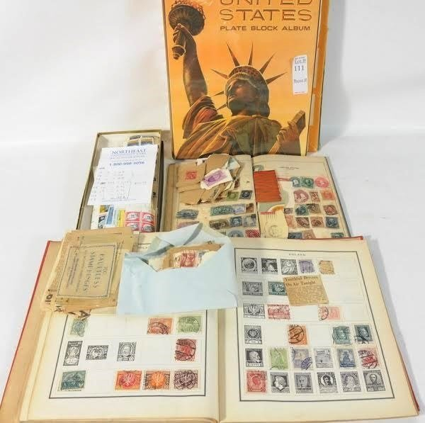 U.S. & World Stamp Collection