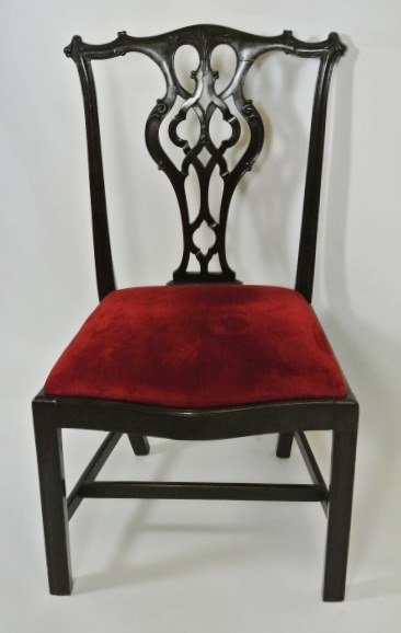 Irish Chippendale Side Chair, 18th C.