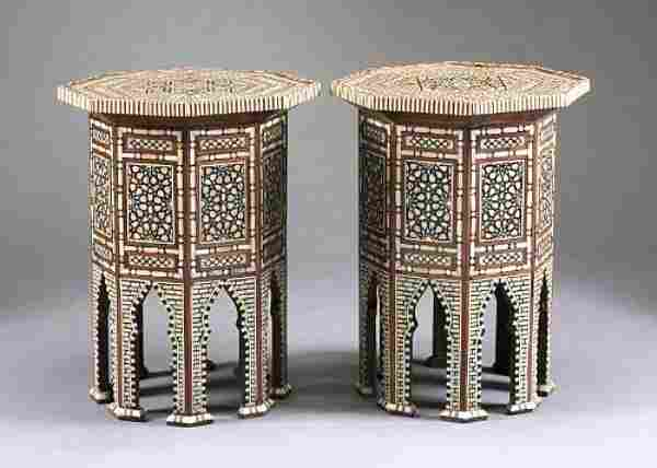 Moroccan Inlaid Tables