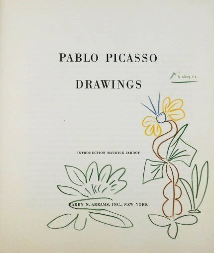 Pablo Picasso (1881-1973) Signed Crayon Drawing
