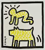 Keith Haring (1958-1990) Drawing, Radiant Baby