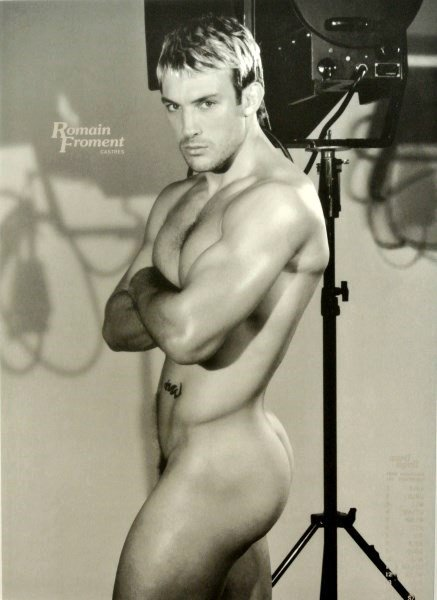 Vintage Male Erotica Photographs, Framed - 2