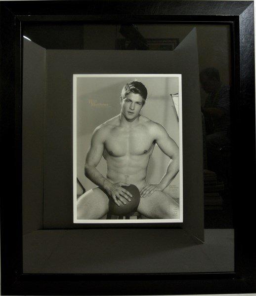 Vintage Male Erotica Photographs, Framed - 4