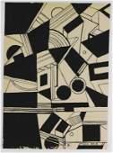 Laszlo Moholy-Nagy (1895-1946) Abstract