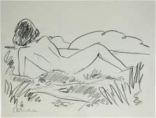 Ernst Ludwig Kirchner 18801938 Drawing