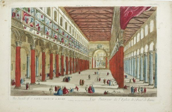 Hand-Colored French Engraving, Circa 1758