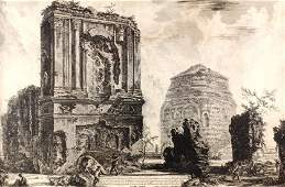 Giovanni Piranesi Etching, 1764