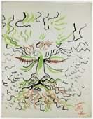 Jean Cocteau (1889-1963) Lithograph