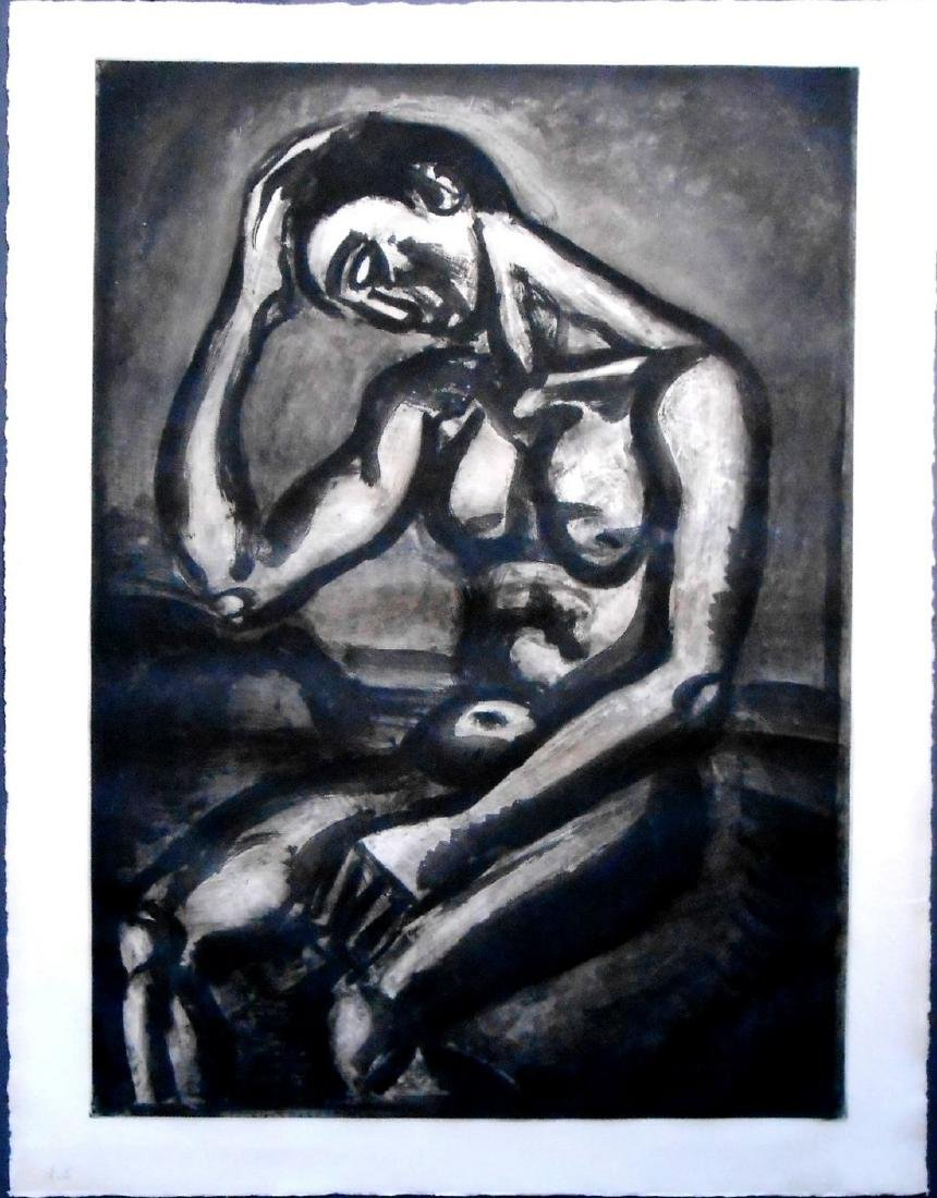 Georges Rouault (1871-1958) Original Lithograph