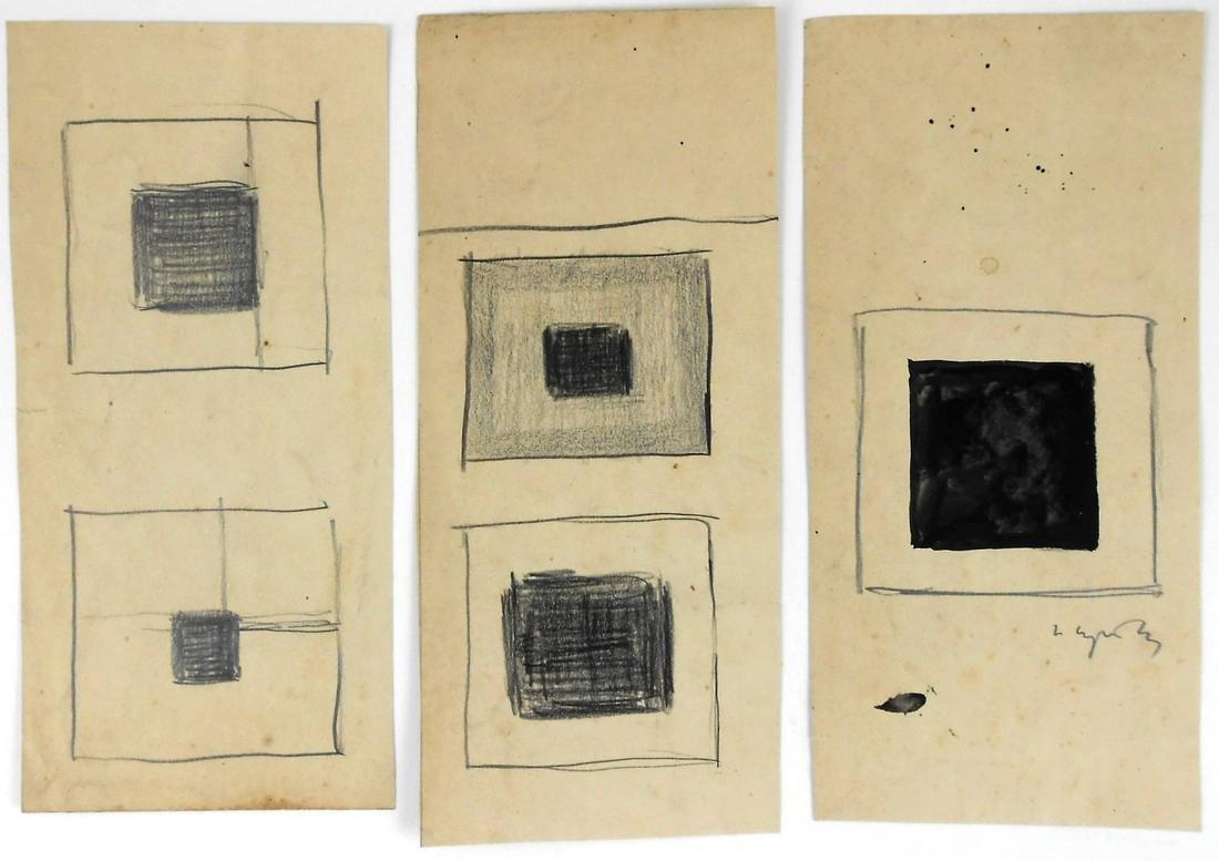 Nicolai Suetin (1897-1954) Suprematist Studies
