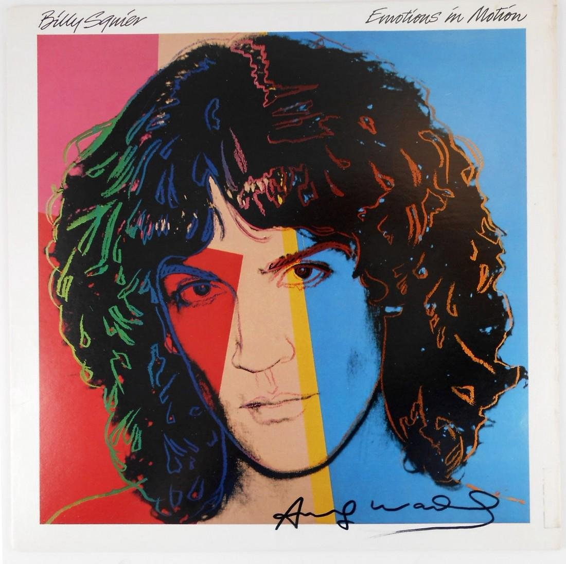 Andy Warhol (1928-1987) Record Album, Signed