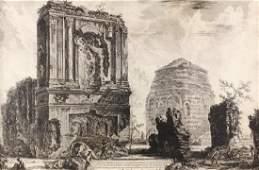 Giovanni Piranesi Etching, Circa 1764