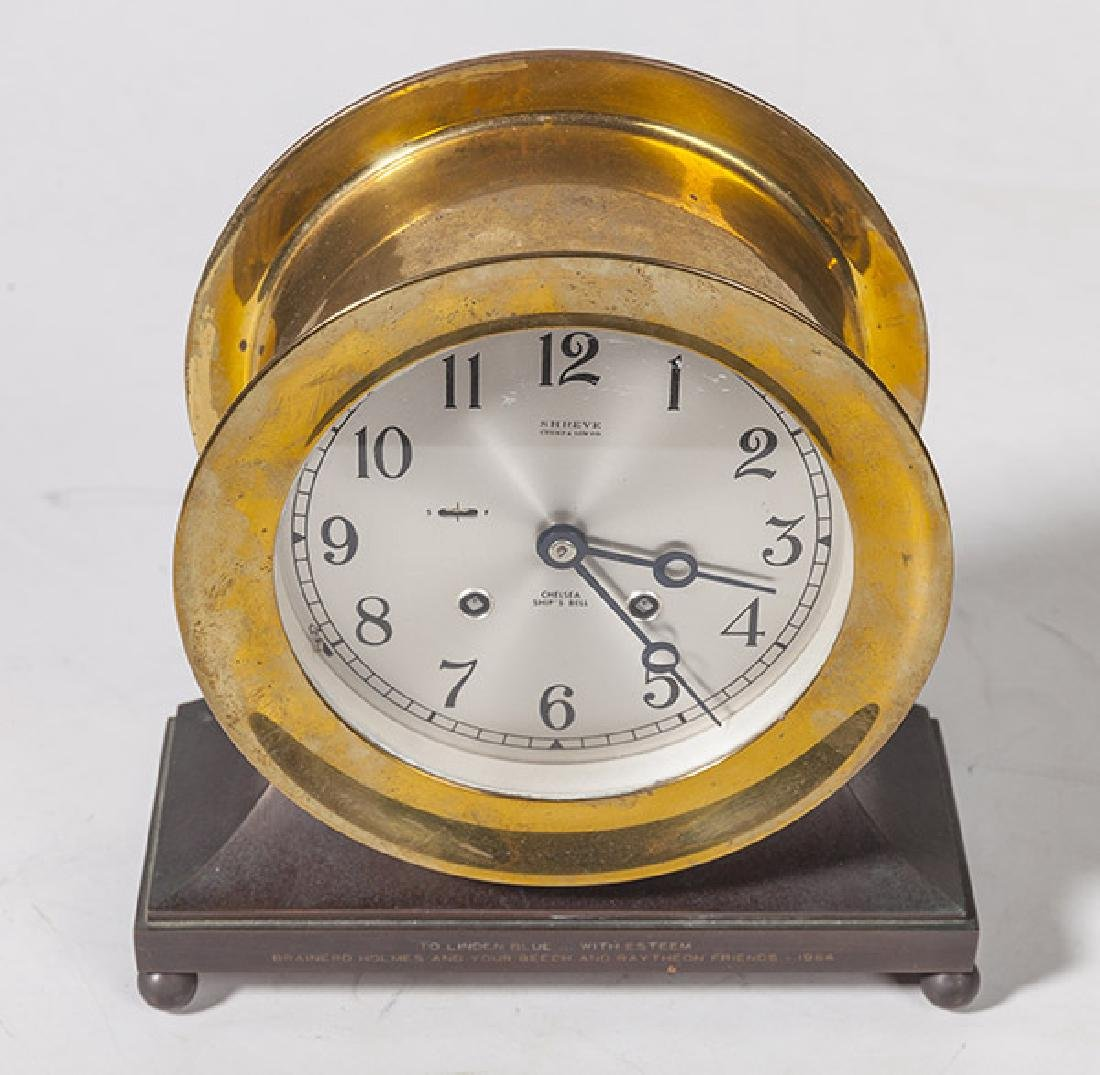 Chelsea Ship's Bell Clock - 2