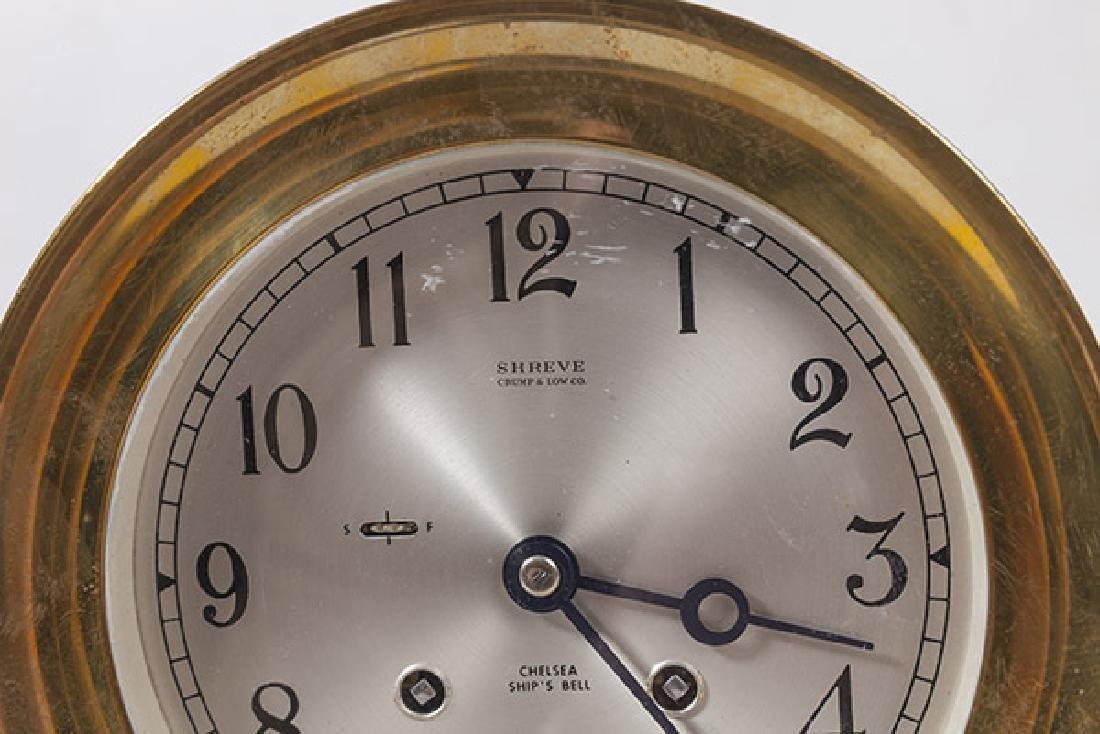 Chelsea Ship's Bell Clock - 3