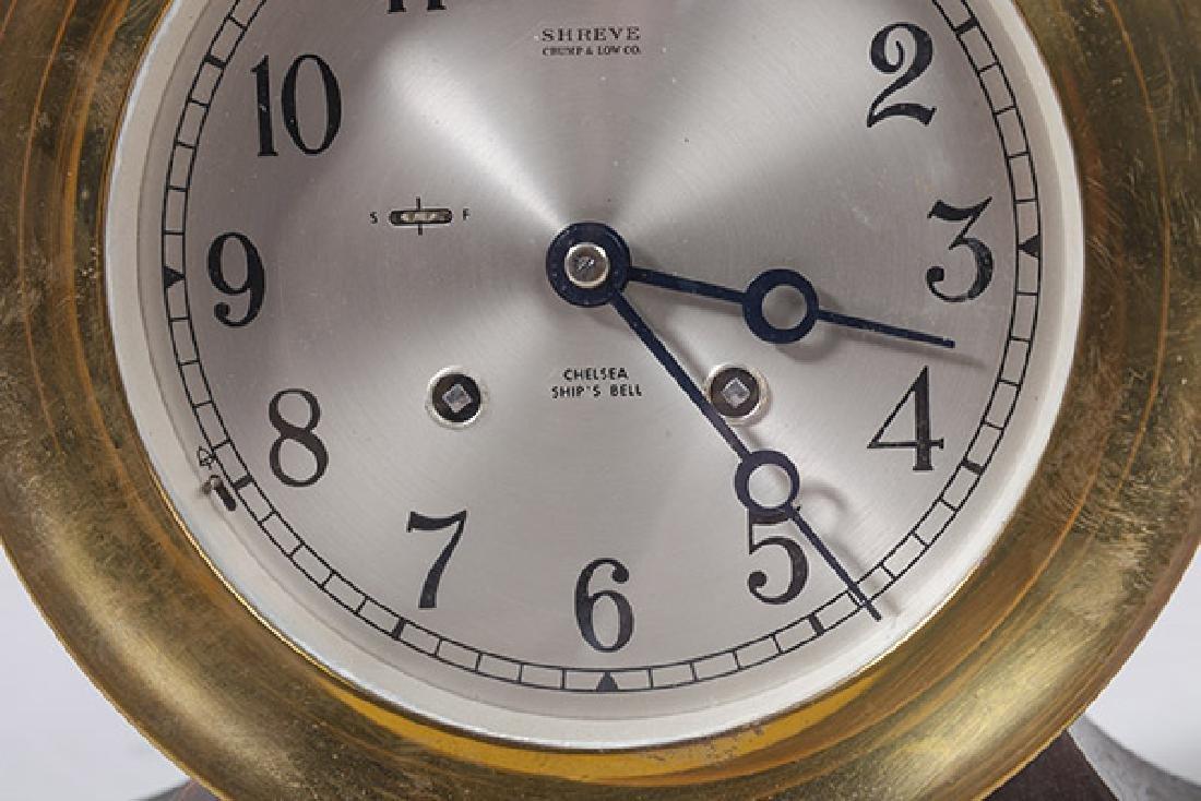 Chelsea Ship's Bell Clock - 4