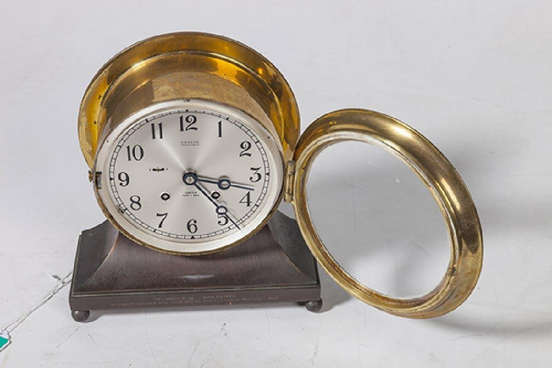 Chelsea Ship's Bell Clock - 7