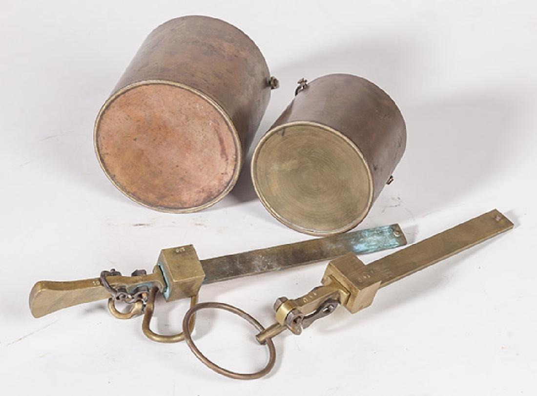 Cast Brass Grain Scales - 10