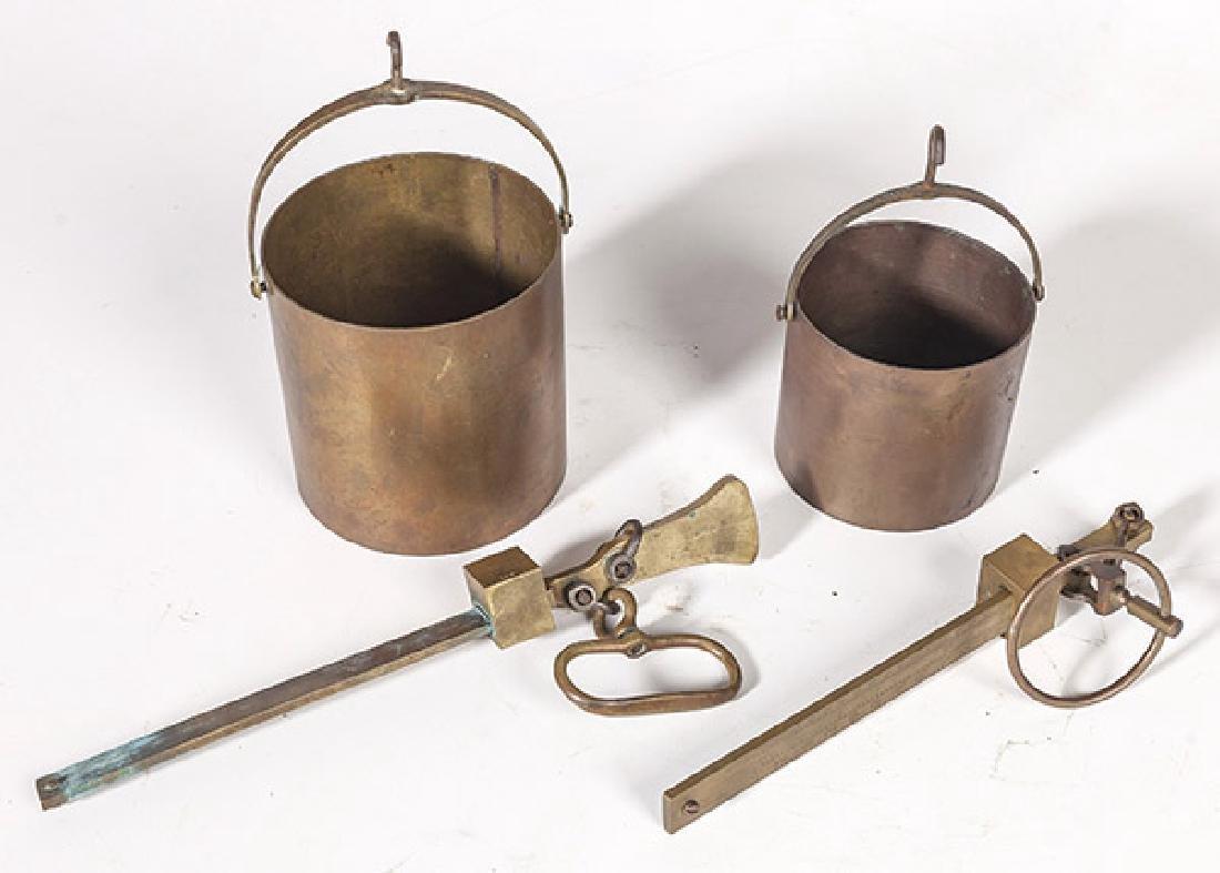 Cast Brass Grain Scales