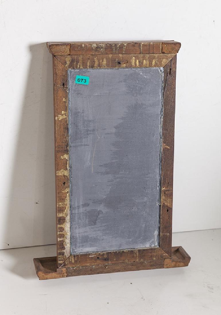 1920's Oak and slate chalkboard. - 4