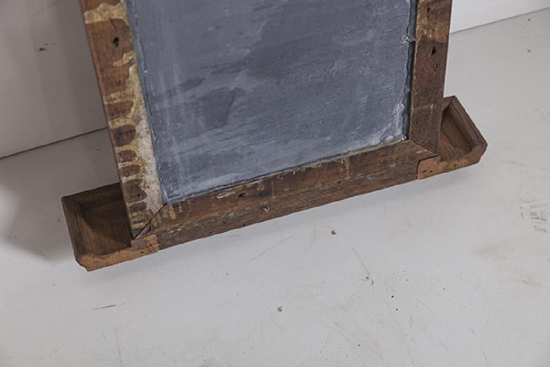 1920's Oak and slate chalkboard. - 5