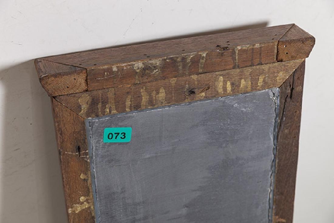 1920's Oak and slate chalkboard. - 8