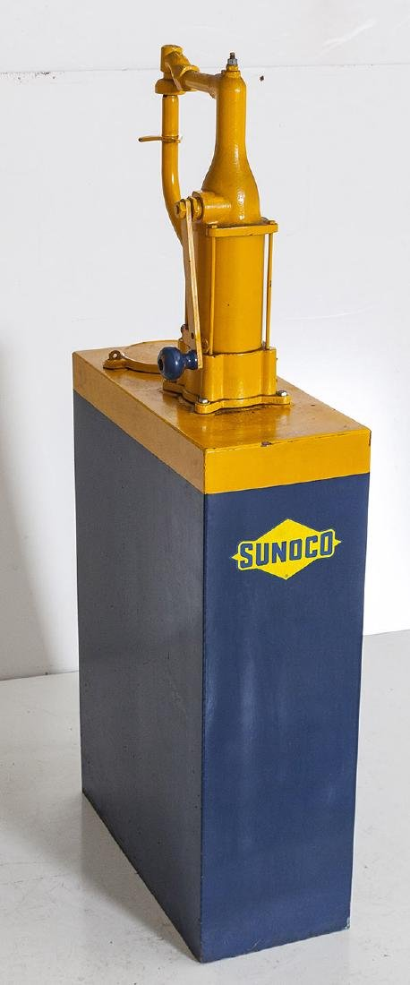 Rare Sunoco Oil Pump - 5