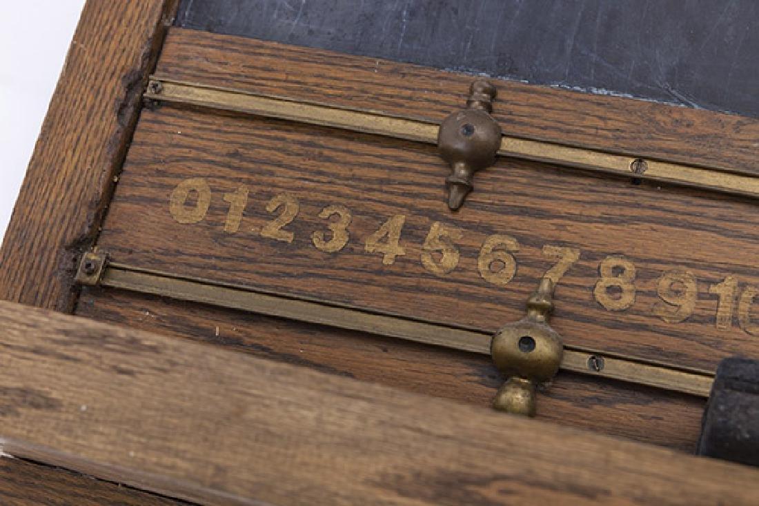 Oak Frame Chalk Board - 10