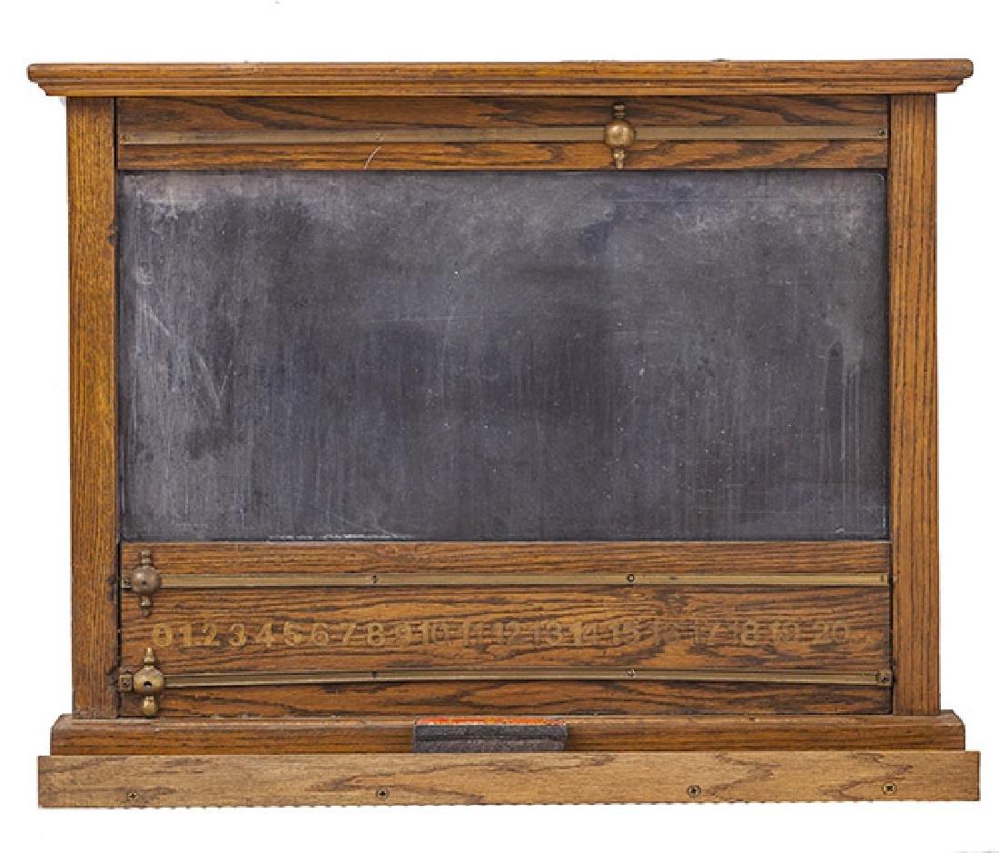 Oak Frame Chalk Board